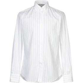 《期間限定セール開催中!》BRUNELLO CUCINELLI メンズ シャツ ホワイト M コットン 100%
