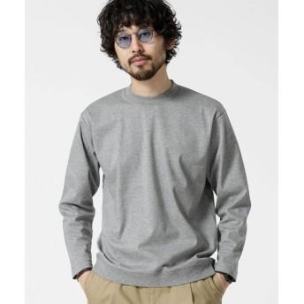二重編みモックネックTシャツ 9/S 5000円以上送料無料【公式/ナノ・ユニバース】