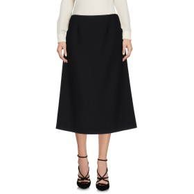 《期間限定 セール開催中》MAISON MARGIELA レディース 7分丈スカート ブラック 42 バージンウール 100%