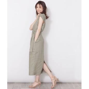フレンチリネンベルト付きIラインスカート 5000円以上送料無料【公式/ナノ・ユニバース】
