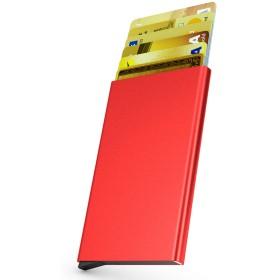 Luxis スキミング防止 クレジットカード ポイントカード ケース 大容量 カード入れ ケース付き