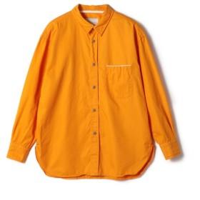 ESTNATION / ビックシルエットコットンツイルシャツ オレンジ/LARGE(エストネーション)◆メンズ シャツ/ブラウス