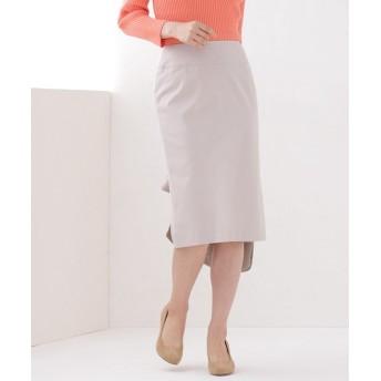 【公式/ナノ・ユニバース】ワイドベルトタイトスカート 5000円以上送料無料【Aperi】