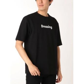 【20%OFF】 コトリカ ポンチプリントTシャツ メンズ ブラック L 【COTORICA.】 【セール開催中】