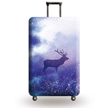 Suitcase Cover Diverse Styles Travel Accessories Luggage Cover Suitcase Protection Baggage Dust Cover Stretch Fabrics Case Size L Style 2