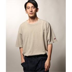 ジャーナルスタンダード FRUIT OF THE LOOM×relume / 別注 ピグメントダイ SLIT Tシャツ メンズ ベージュ L 【JOURNAL STANDARD】