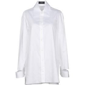 《セール開催中》JOSEPH レディース シャツ ホワイト 38 コットン 100%