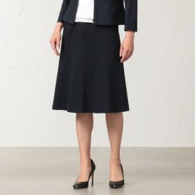 SALE【トランスワーク(TRANS WORK)】 【セットアップ対応】【美Skirt】【接触冷感】【吸水速乾】【ウォッシャブル】クールマックスモックロディスカート ネイビー