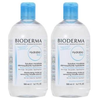 ビオデルマ BIODERMA イドラビオ H2O 500mL 2個セット クレンジング