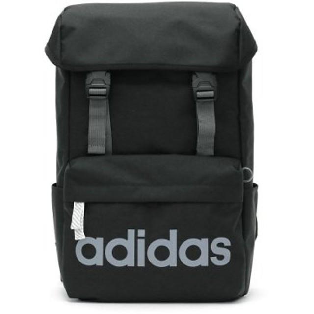 (GALLERIA/ギャレリア)アディダス リュック adidas バッグ スクールバッグ リュックサック デイパック かぶせ型 20L 47893/ユニセックス ブラック 送料無料