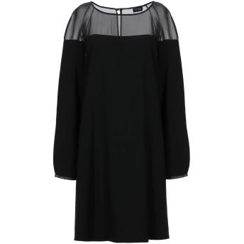 《セール開催中》EMPORIO ARMANI レディース ミニワンピース&ドレス ブラック 40 ポリエステル 100%