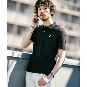 【WEB限定】ラインカラー刺繍ポロシャツ SS 5000円以上送料無料【公式/ナノ・ユニバース】