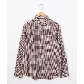 【20%OFF】 コーエン シェパードチェックレギュラーカラーシャツ メンズ WINE MEDIUM 【coen】 【セール開催中】