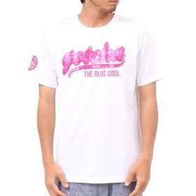 [ガッチャ] GOTCHA Tシャツ ムラ染め 叩き付け Tee 192G1032 ホワイト S