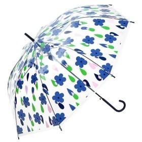 BACKYARD FAMILY Wpc. ビニール傘 60cm レディース ネイビー プラスチック傘 【BACKYARD FAMILY】