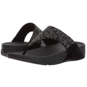 FitFlop(フィットフロップ) レディース 女性用 シューズ 靴 サンダル Lulu(TM) Popstud Toe Post - Black 5 M (B) [並行輸入品]