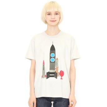 [マルイ] 【ユニセックス】コラボレーションTシャツ/きんぎょロケット(五味太郎)/グラニフ(graniph)