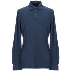 《期間限定セール開催中!》FEDELI メンズ ポロシャツ ダークブルー 58 コットン 100%