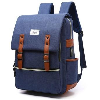 バックパック (Color : ブルー)