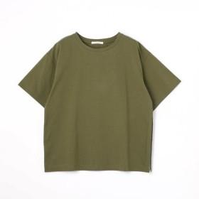 [マルイ]【セール】サイドファスナーショートTシャツ/グランドパーク(GRAND PARK)