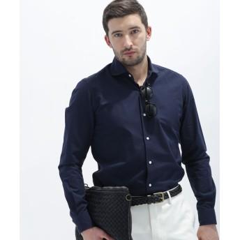 【公式/ナノ・ユニバース】//ピンドットライク ドビーシャツ 5000円以上送料無料【nano LIBRARY】