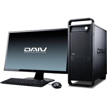 【マウスコンピューター/DAIV】DAIV-DGX760E4-S2[クリエイターデスクトップPC]