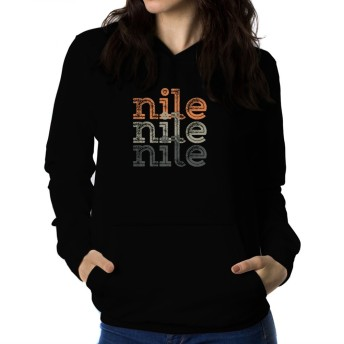 Nile repeat retro 女性 フーディー
