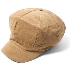 (エムエイチエー) M.H.A.style コーデュロイ キャスケット 帽子 レディース メンズ ユニセックス 21708 A.キャメル