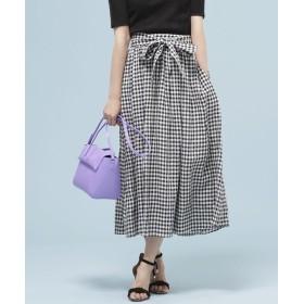 フレンチリネンギャザースカート 5000円以上送料無料【公式/ナノ・ユニバース】