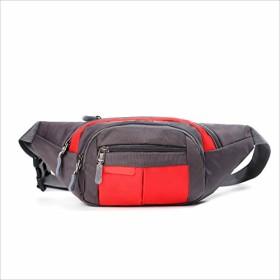 Runny ウエストバッグスポーツ財布チェストバッグ多機能目に見えないミニ防水 顧客に愛されて (色 : 赤)