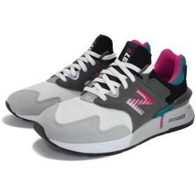 [ニューバランス] スニーカー シューズ 【MS997】 運動靴 (26cm, GREY/GREEN(034))