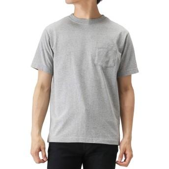 Champion(チャンピオン) プリントTシャツ 半袖Tシャツ クルーネック C3-M349 メンズ グレー:M