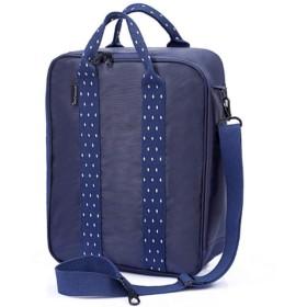 SHINA 多機能 旅行バッグ 手提げバッグ 予備バッグ スーツケースの持ち手に通せる トローリーケース ハンドバッグ ショルダーバッグ 収納袋 トラベルバッグ 3way 出張 旅行 防水