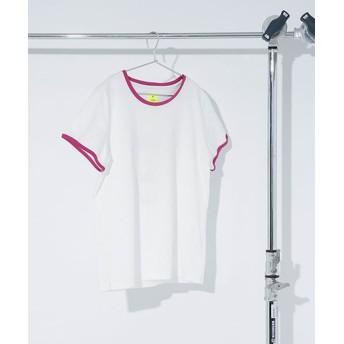 【公式/ナノ・ユニバース】別注パイピングプリントTシャツ 5000円以上送料無料【HEAD】