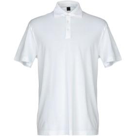 《セール開催中》MAXI HO メンズ ポロシャツ ホワイト 52 コットン 100%