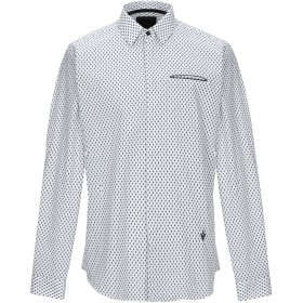 《期間限定 セール開催中》CAVALLI CLASS メンズ シャツ ホワイト 46 コットン 100%