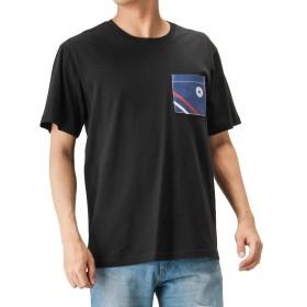 CONVERSE(コンバース) キャンバスポケットTシャツ 半袖Tシャツ クルーネック 9273-0515 メンズ ブラック:L