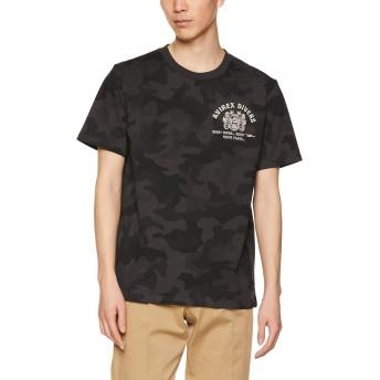 [アヴィレックス] Tシャツ EMB TEE DIVING&SALVAGE 6193343 メンズ 814GREY CAMO 日本 M (日本サイズM相当)