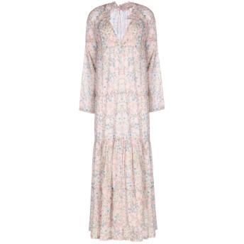 《セール開催中》ROSE' A POIS レディース 7分丈ワンピース・ドレス ライトピンク 42 コットン 100%