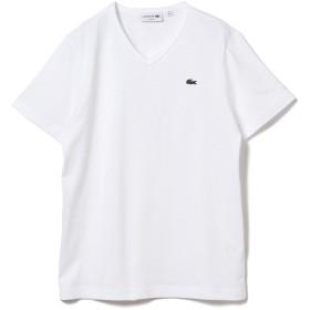 (ビームスエフ)BEAMS F/カットソー LACOSTE/ロゴVネックTシャツ メンズ WHITE 3