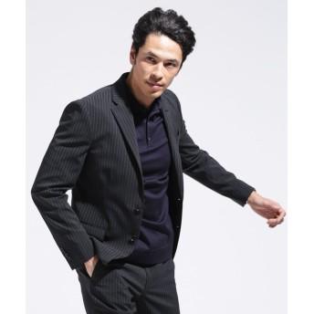 SL シック&シン ストレッチストライプジャケット 5000円以上送料無料【公式/ナノ・ユニバース】
