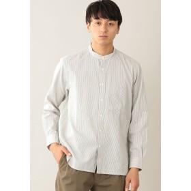 MACKINTOSH PHILOSOPHY バンドカラーシャツ シャツ・ブラウス,オフホワイト
