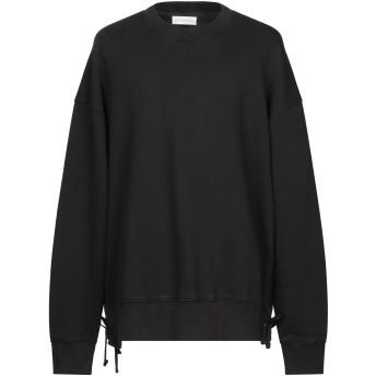 《期間限定セール開催中!》FAITH CONNEXION メンズ スウェットシャツ ブラック M コットン 100%