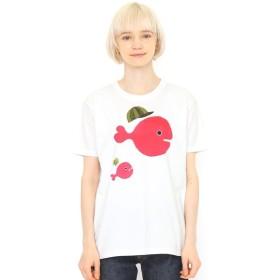 [マルイ] 【ユニセックス】コラボレーションTシャツ/きんぎょ帽子(五味太郎)/グラニフ(graniph)