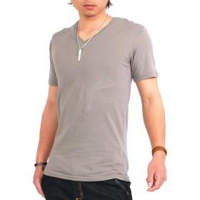 Tシャツ - SPADE Tシャツ メンズ 半袖 Vネック 無地 カラー 白 黒 春