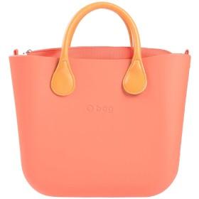《セール開催中》O BAG by FULLSPOT レディース ハンドバッグ あんず色 コットン 100%