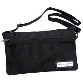 [マファパシフィックリミテッド] ショルダーバッグ 軽量 多ポケット コンビカラー ブラック