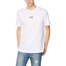 (ディーゼル) DIESEL メンズ Tシャツ グラフィックデザイン 00SW9L0CATM XS ホワイト 100