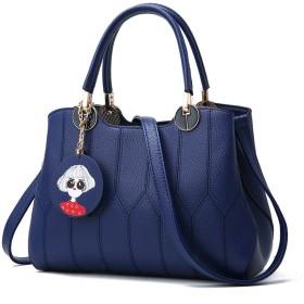 のファッショントレンド女性のハンドバッグ袋のハンドバッグのショルダー・バッグレトロカジュアルメッセンジャーバッグ女性用,ブルー