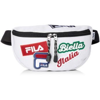 [フィラ] FILA フィラ ワッペンウエストバッグ FM2144 ウエストバッグ ホワイト